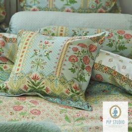 Čtvercový polštář Pip Studio Darjeeling 45x45 cm barevná
