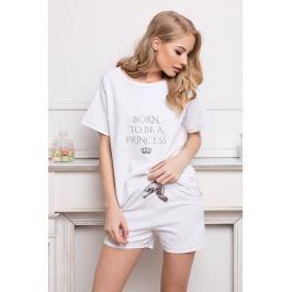 Dámské pyžamo Princess  bílá