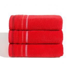 Ručník Jasmina červený 30x50 cm Ručník malý