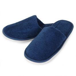 Domácí pantofle Charles modré 26 cm modrá