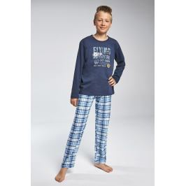 Chlapecké pyžamo Cornette Flying  modrá