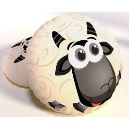 Dekorační polštář Sheep 40x40 cm bílá