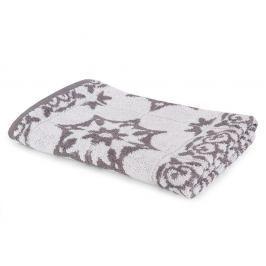 Kuchyňský ručník Mozaika šedý 50x50 cm šedá