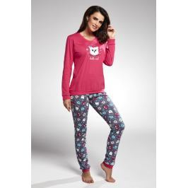 Dámské pyžamo Owl růžové  barevná