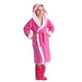 Dívčí župan Zuzana růžový  růžová