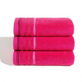 Ručník Jasmina růžový 50x100 cm Ručník velký