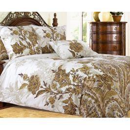 Povlečení Kleopatra hnědé 140x200 jednolůžko - standard bavlna