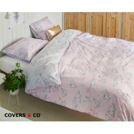 Povlečení Covers & Co Love Letter 140x200 jednolůžko - standard bavlna