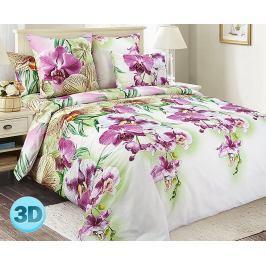 Povlečení Orchidée 140x200 jednolůžko - standard Bavlněný satén