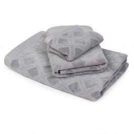 Malý ručník Charles šedý 30x50 cm Ručník malý