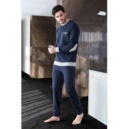 Pánské pyžamo ENRICO COVERI Sport  modrá