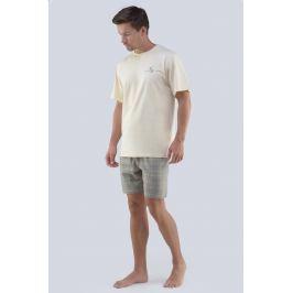 Pánské pyžamo GINO Albert  písková