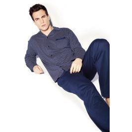 Pánské pyžamo HECHTER Maxime  modrá