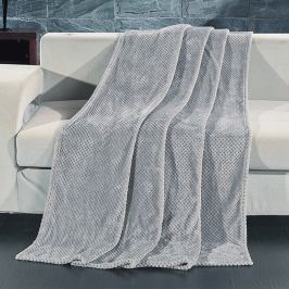 Deka Henry šedá 150x200 cm šedá