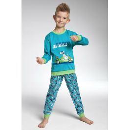 Chlapecké pyžamo Cornette Speed  tyrkysová