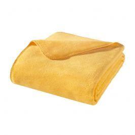 Deka Kirsten žlutá 150x200 cm žlutá