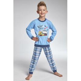 Chlapecké pyžamo Cornette Work  modrá