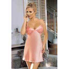 Luxusní košilka Temptation  růžová