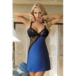 Elegantní košilka Blue Night  modrá