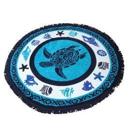 Plážová deka 2v1 Tortuga  modra