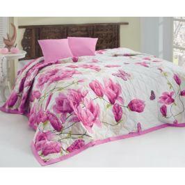 Přehoz Alize lila 220x240 cm bavlna