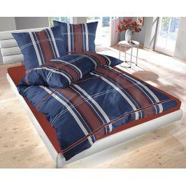 Povlečnení Denim modré 140x200 jednolůžko - standard bavlna