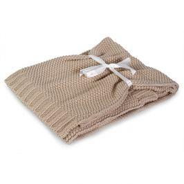 Pletená dětská deka Tully béžová 75x100 cm ecru