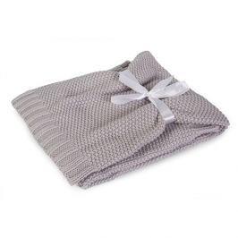 Pletená dětská deka Tully šedá 75x100 cm šedá
