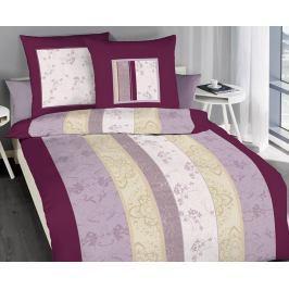 Povlečení Nobles fialové 140x200 jednolůžko - standard bavlna