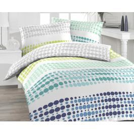 Povlečení Felix Aqua 140x200 jednolůžko - standard bavlna