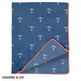 Deka Covers & Co Anchor 130x170 cm barevná