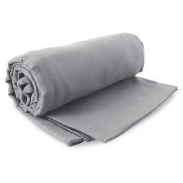 Rychleschnoucí osuška Ekea šedá 100x200 cm šedá