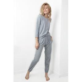 Dámské pyžamo Juliet šedé  šedá