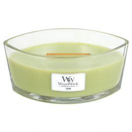 WW svíčka ve skle loď Fern  zelená