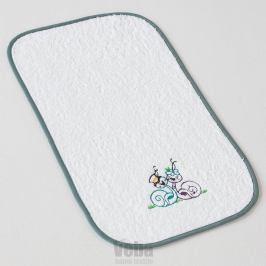 Dětský ručník Šnečci 30x50 cm bílá
