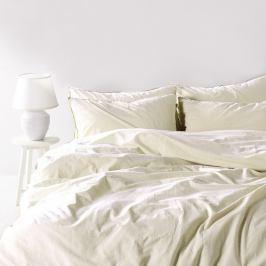 Povlečení Stonewash bílé 220x200 dvojlůžko - standard bavlna