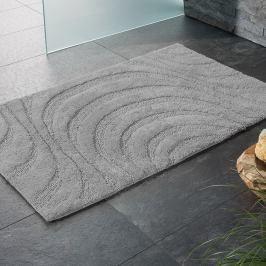 Koupelnová předložka Jaipur šedá 60x100 cm šedá
