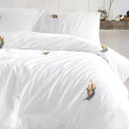 Povlečení Stonewash ručně vyšívané 140x200 jednolůžko - standard bavlna