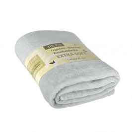 Deka Extra Soft šedá 140x200 cm hnědá