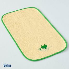 Dětský ručník Žába 30x50 cm žlutá