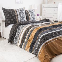 Krepové povlečení Vincenza 140x200 jednolůžko - standard bavlna