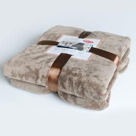 Luxusní deka Astratex hnědá 150x200 cm hnědá