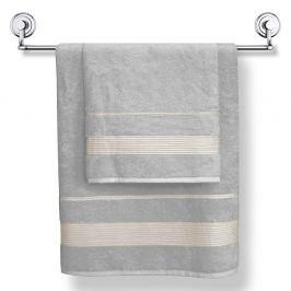 Bambusový ručník Moreno světlešedý 50x90 cm Ručník