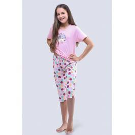 Dívčí pyžamo Cats růžové  růžová