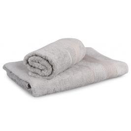 Set 2 bambusových ručníků Moreno - světle šedý Set Dvoudílný set