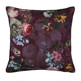 Dekorační  polštářek Essenza Home Fleur Burgundy 50x50 cm fialová