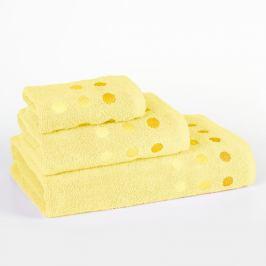 Ručník Vienna žlutý 30x50 cm Ručník malý