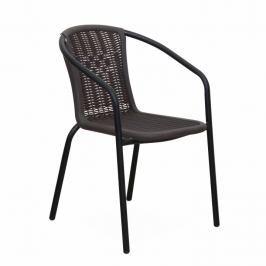 Zahradní židle Varda (černá)
