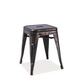 Barová židle Spot (černá)