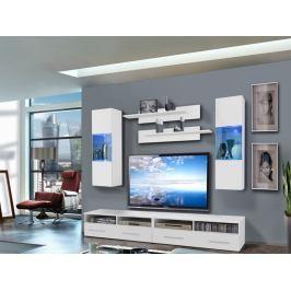 Obývací stěna Clevo 25 WW CL C2 (s osvětlením)